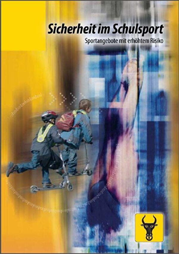 Titelbild der Broschüre Sicherheit im Schulsport