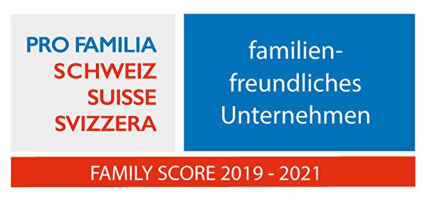 Gütesiegel Familiy Score