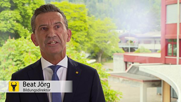 Beat Jörg: «Es gibt wieder Lichtblicke in der Krise.» (Screenshot: Focuspictures)