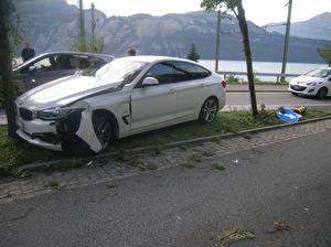 Selbstunfall mit Personenwagen – niemand verletzt