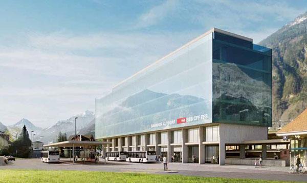 Vision Bahnhof Altdorf