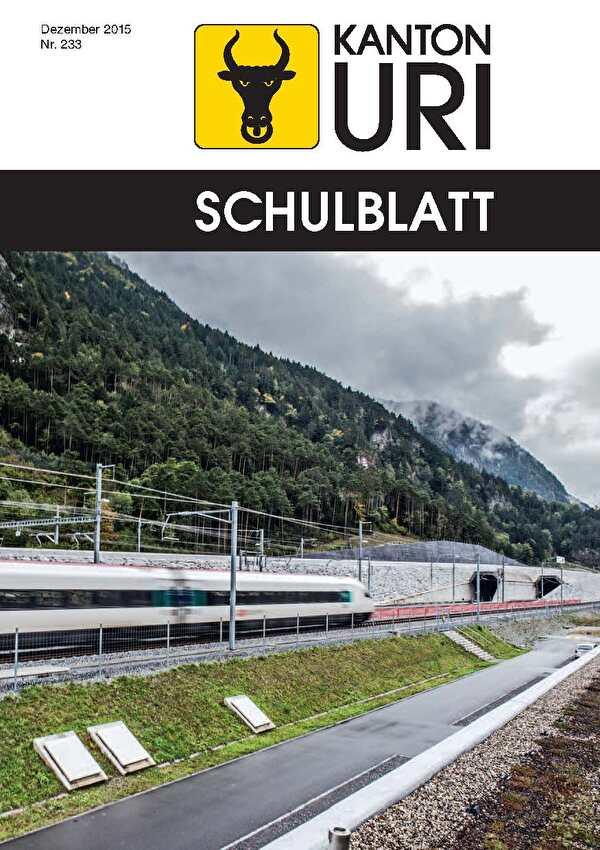 Sammlung der Schulblätter des Kantons Uri