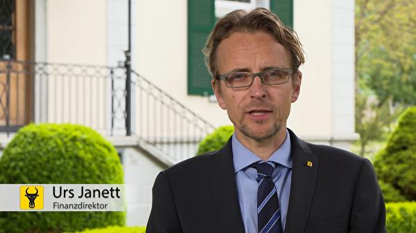 Urs Janett: «Kaufen Sie lokal ein.» (Screenshot: Focuspictures)