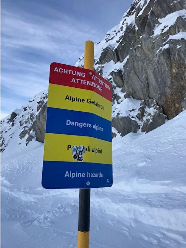 Symbolbild Alpine Gefahren