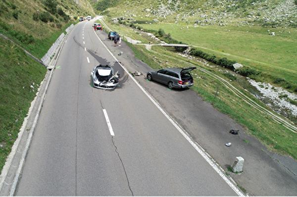 Verkehrsunfall mit Millionenschaden