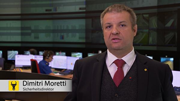 Dimitri Moretti: «Die Sicherheit im Kanton Uri ist jederzeit gewährleistet.» (Screenshot: Focuspictures)