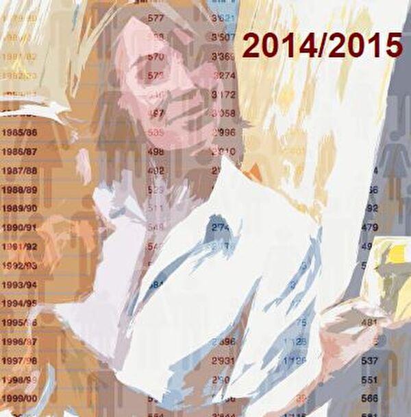Titelbild Statistik 2014/2015