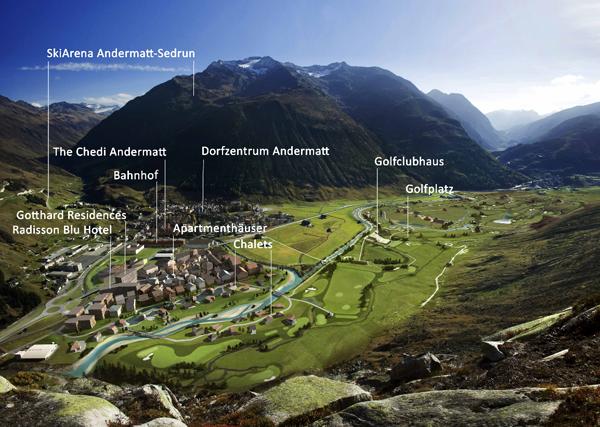 (c) Andermatt Swiss Alps