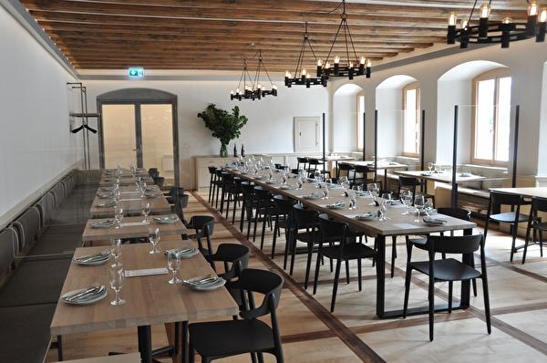 Blick ins Culinarium Alpinum in Stans.