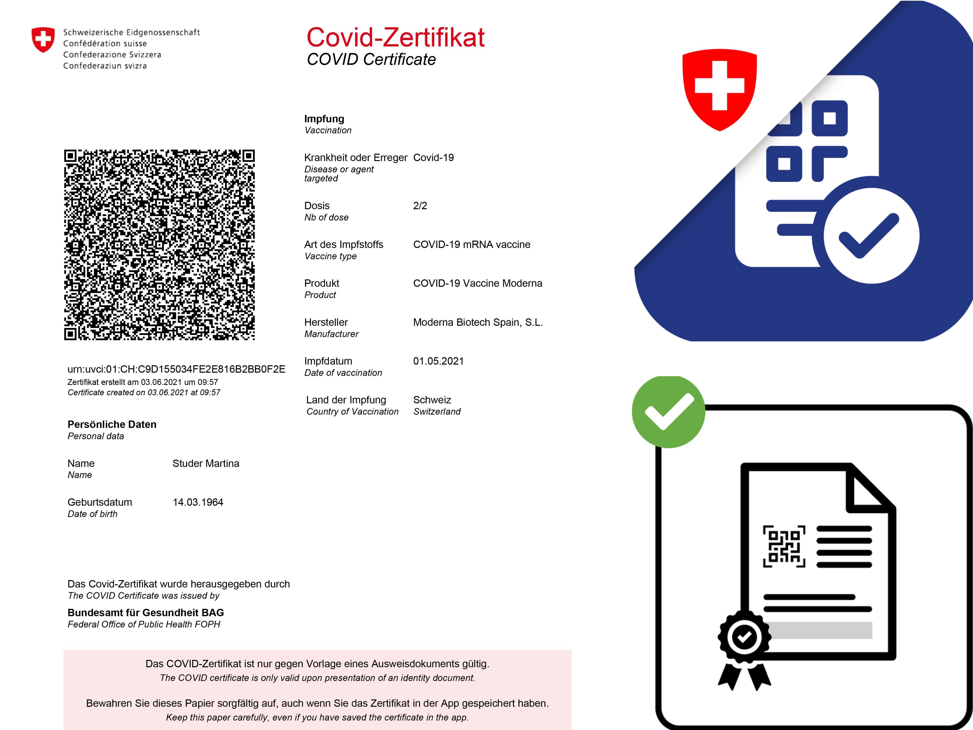 Collage Zertifikat