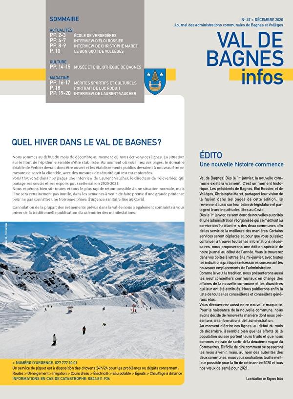 Val de Bagnes Infos n0
