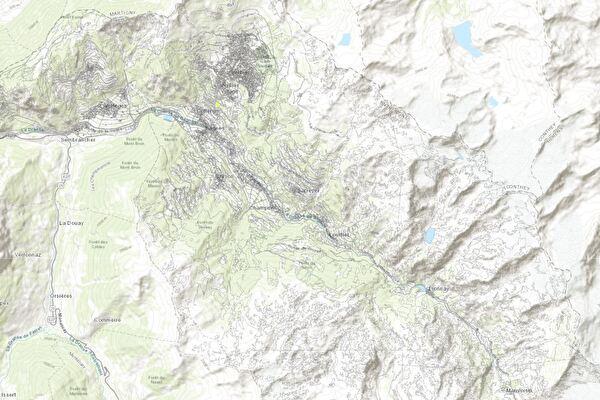 map val de bagnes