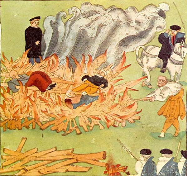 Hexenverbrennung in Baden