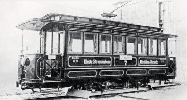 Elektrische Strassenbahn 1897