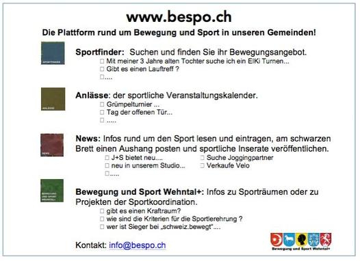 Homepage Bespo