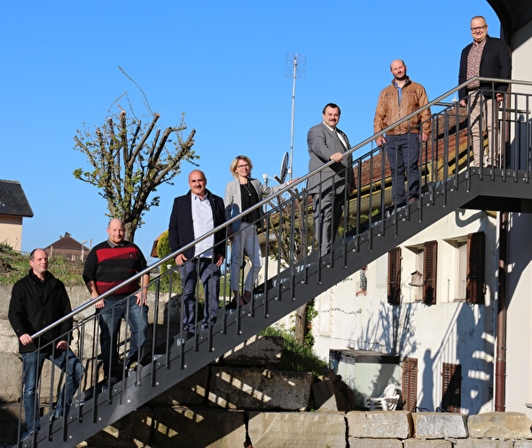 Claude Raemy, Fabien Kolly, Jämes Michoud, Isabelle Yerly, Bertrand Gaillard, Xavier Brodard, Thierry Moret
