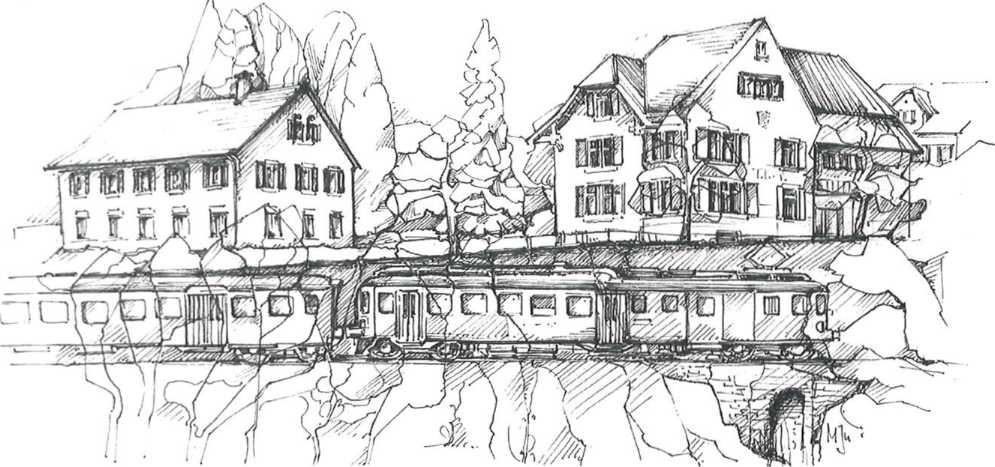 Gemeindehaus und Sekundarschulhaus Illnau