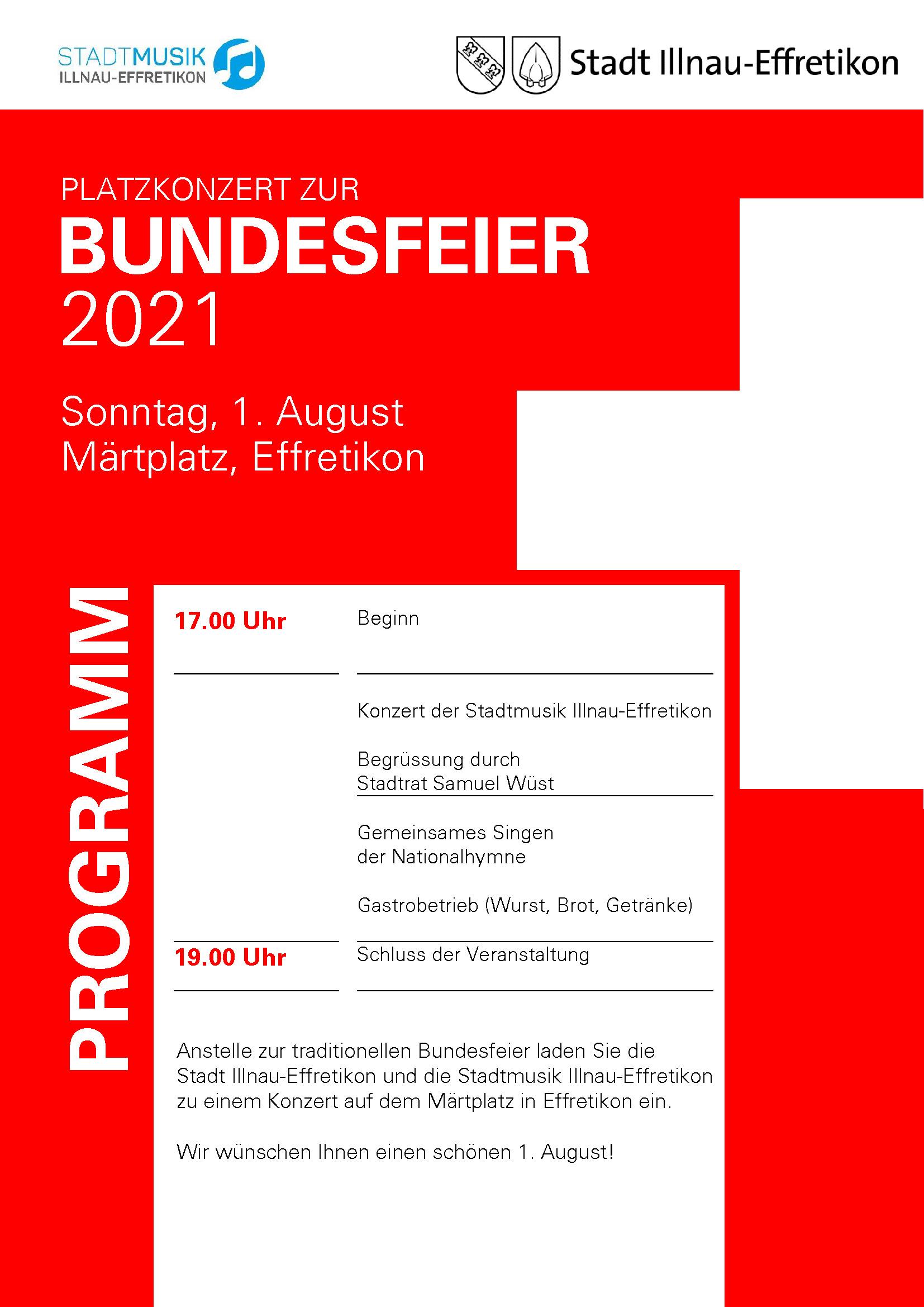 Bundesfeier 2021