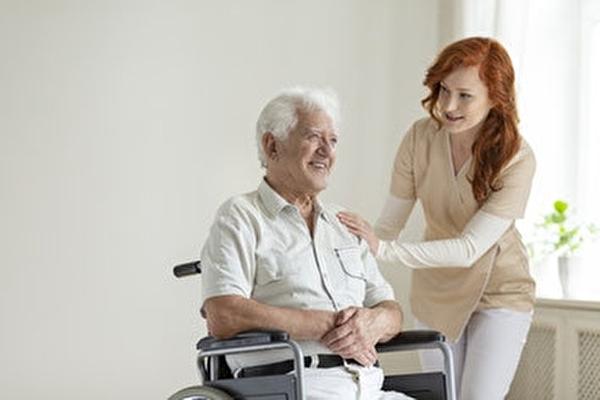 Betreuung einer älternen Person