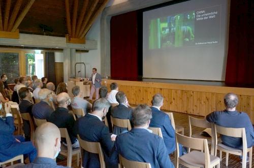 Wirtschaftsforum ILEF Pascal Nufer