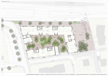 Privater Gestaltungsplan Rosenhof - Umgebungsgestaltung