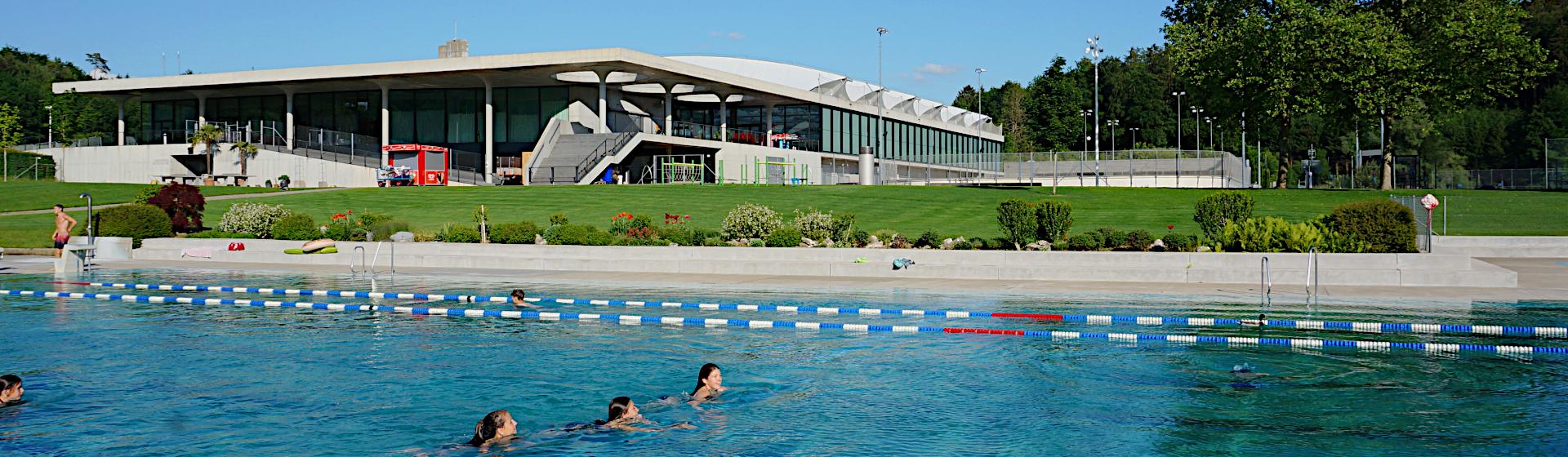 Sportzentrum Effretikon im Sommer