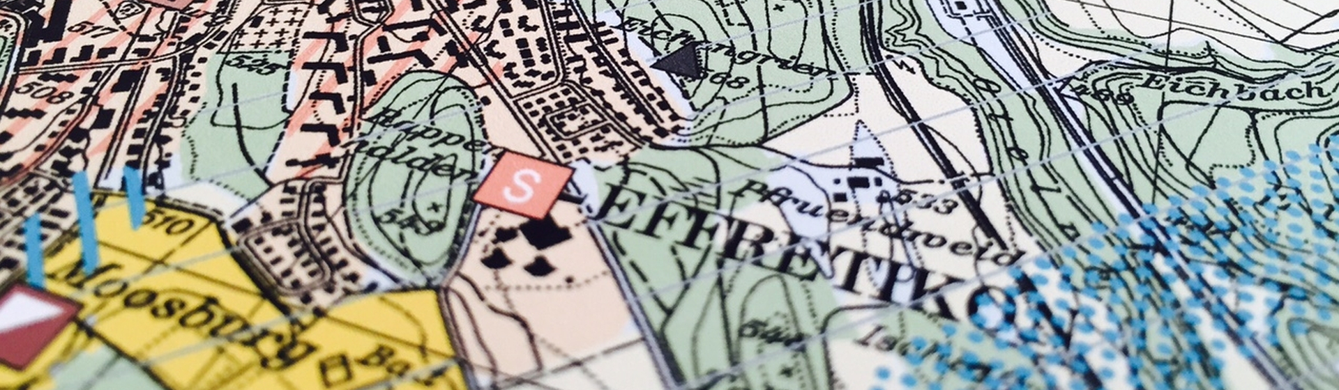Symbolbild Ortsplanung; Stadtplan Effretikon