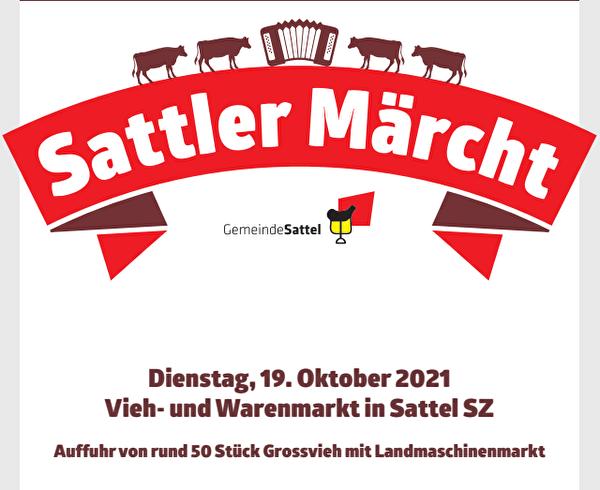 Ankündigung Sattler Märcht 2021