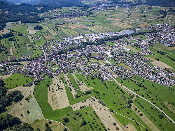 Flugbild Büsserach