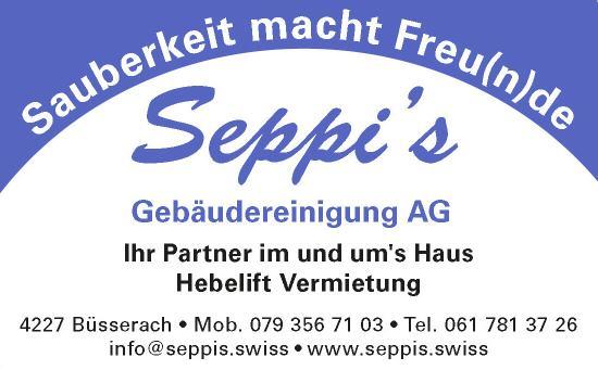 Logo Seppi's Gebäudereinigung AG
