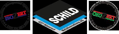 Logo Schild Metallveredelung AG