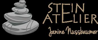 Logo des Steinateliers von Janine Nussbaumer