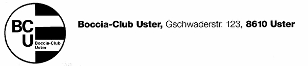Boccia-Club Uster