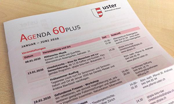 Ansicht Agenda 60plus