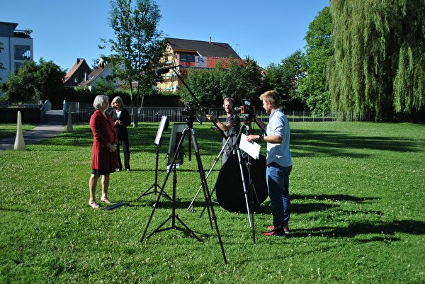 Making-of 1. August-Grussbotschaft