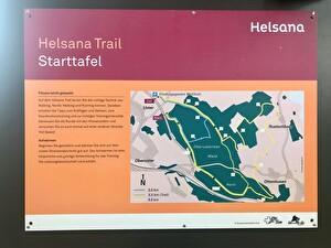 Starttafel Helsana Trail