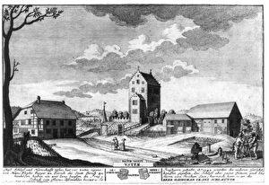 Mittelalterliche Bauten auf dem Gemeindeboden von Uster vor 1300