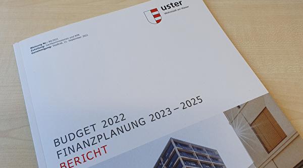 Abbildung Titelseite Budgetbericht