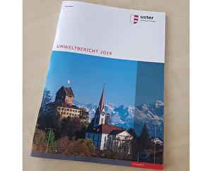Broschüre Umweltbericht 2019