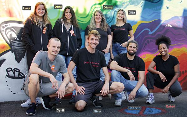 Team offene Jugendarbeit