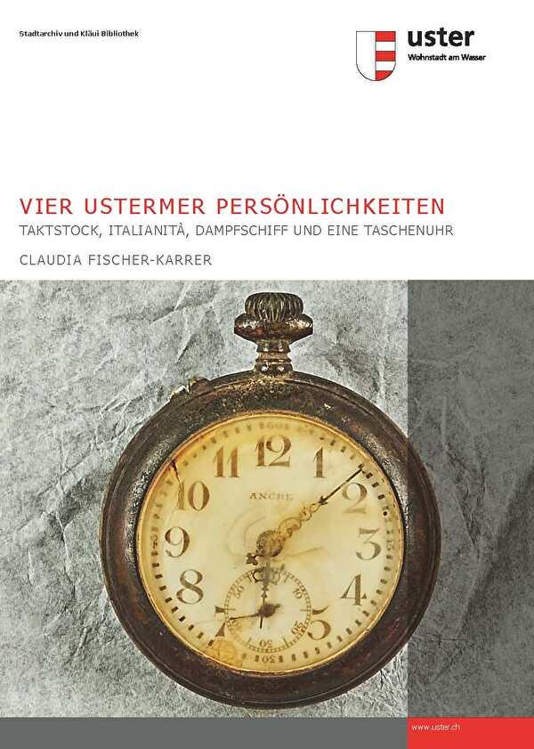Titelbild Publikation, Taschenuhr von Albert Wirz
