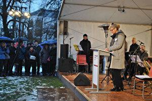 Barbara Thalmann am Neujahrsempfang