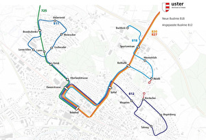 Plan Buslinien