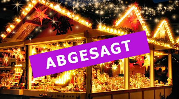 Weihnachtsmarkt abgesagt