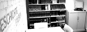 Lese und Arbeitsraum