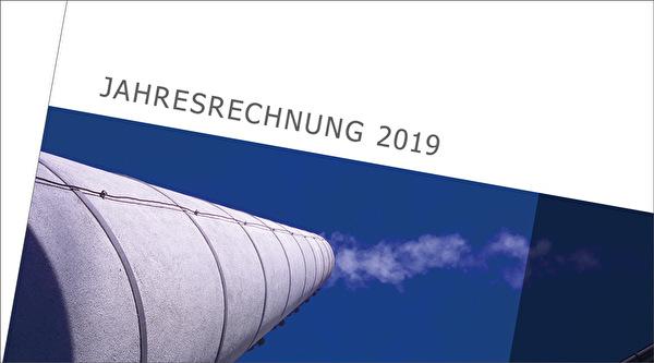 Ausschnitt Titelseite Jahresrechnung 2019