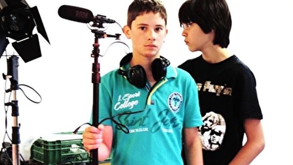 Kinder machen Video