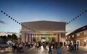 Visualisierung Kulturzentrum