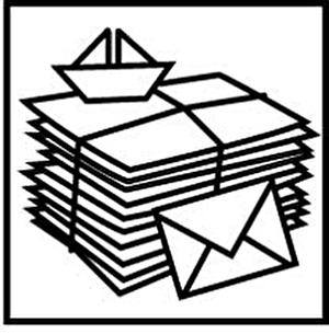 Papier- und Kartonsammlung
