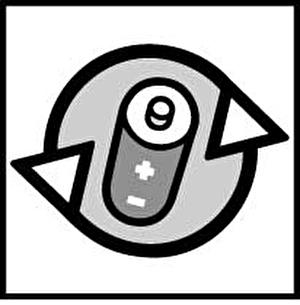 Monogramm für Altbatterien